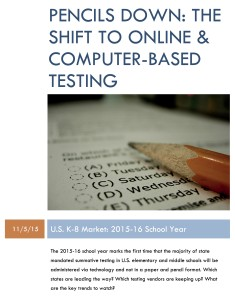 Pencils Down: The Shift to Online & Computer-Based Testing